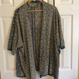 Lightweight sweater/shawl